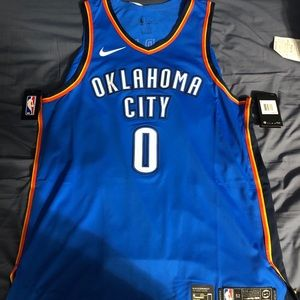Russell Westbrook Authentic NBA Jersey XL (52)
